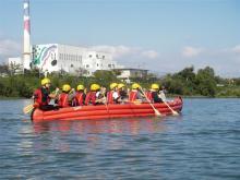 日野川Eボート