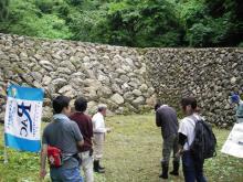 環境文化研究所-堰堤見学